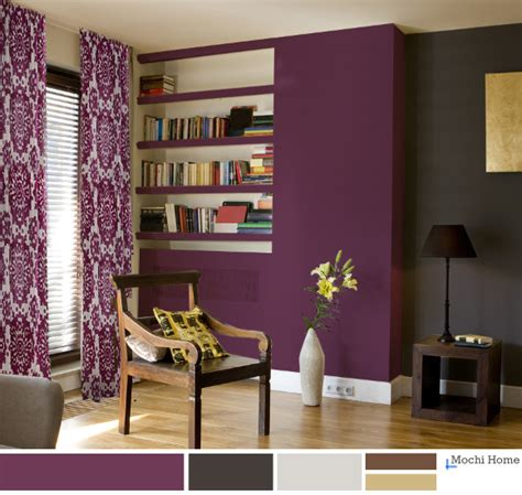 paint colors for living room purple 20 comfortable living room color schemes and paint color