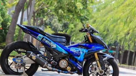 Modification Jupiter Mx King by Top Modifikasi Motor Mx King Terbaru Modifikasi Motor