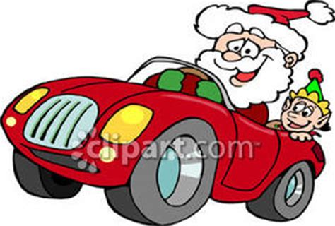 animated santa driving santa in racecar clipart clipart collection race car racing cars clip retro santa clipart