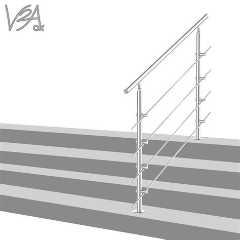 treppengeländer wandmontage treppengel 228 nder edelstahl handlauf gel 228 nder real