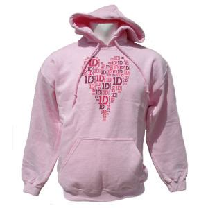 Hoodie Pink Write One Direction 301 moved permanently