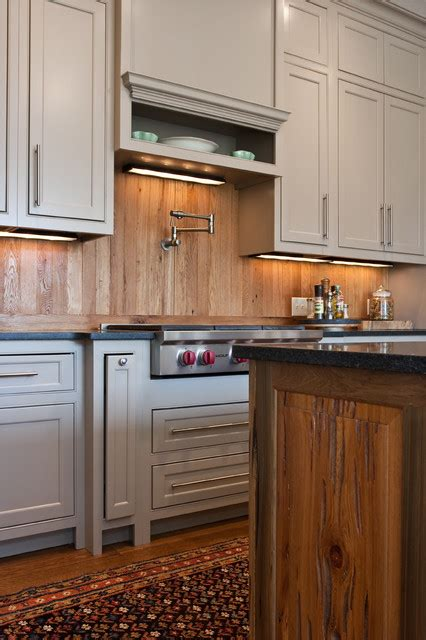 Wood Backsplash Kitchen | wood backsplash