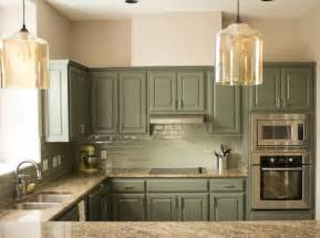Green Kitchen Cabinets Painted by Top Kitchen Cabinet Ideas 6 Most Popular Designs