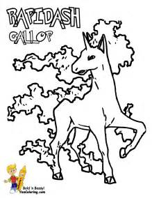 pokemon ponyta coloring pages coloring home
