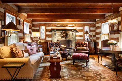 Log Cabin Chic   Rustic   Living Room   DC Metro   by