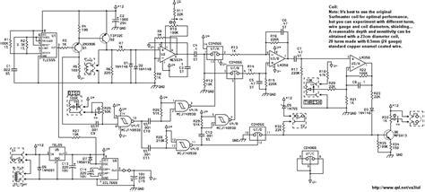 Metal Detector Schematic Circuit Diagram
