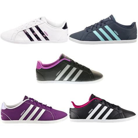 Original Sepatu Casual Adidas Neo Womans Coneo Qt adidas coneo qt w s sneakers boots casual shoes shoe new neo ebay