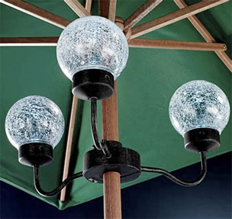Patio Umbrella With Lights by Patio Umbrella Lights Traditional Outdoor Lighting