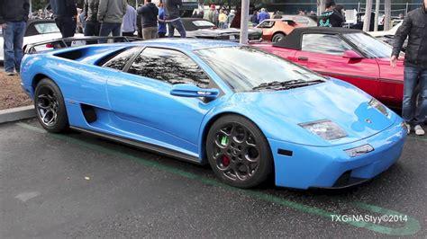 Blue Lamborghini Diablo Blue Ely Lamborghini Diablo Vt 6 0