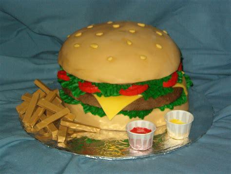 hamburger cakes decoration ideas  birthday cakes