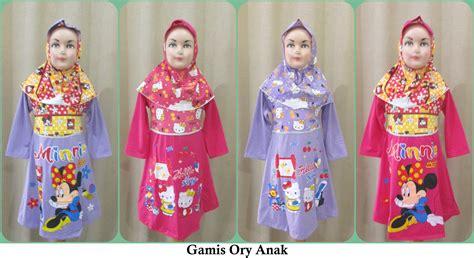 Atm199e 24 Grosir Busana Baju Muslim Anak Perempuan Wanita Cewe pusat grosir gamis ory anak murah tanah abang 28ribu