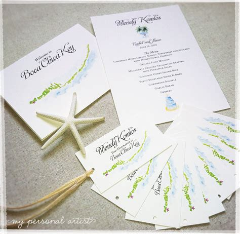 unique place cards unique beach wedding place cards custom invitations