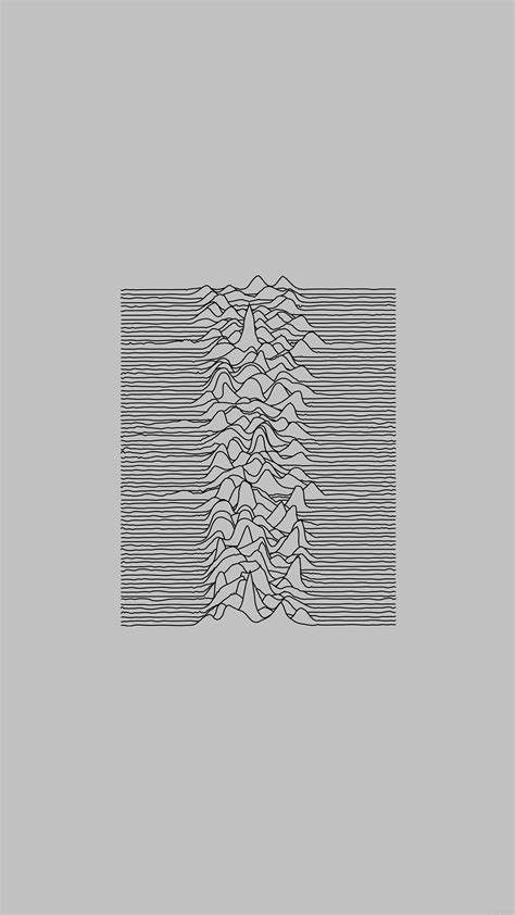ai joy division unknown pleasures white art minimal
