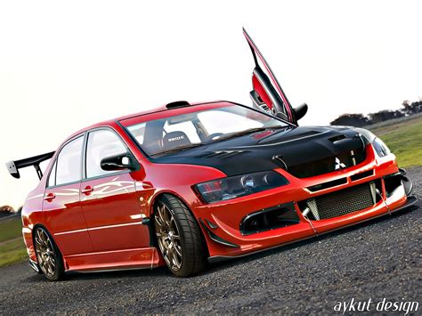 mitsubishi modified wallpaper mitsubishi lancer evolution 8 modified image 201