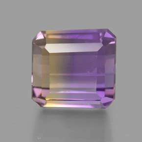 Ametrine 6 60ct 4 6 carat octogone coupe 201 meraude 8 4x8 mm naturel and