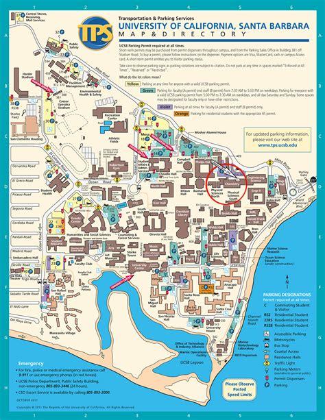 Ucsb Finder Of California Santa Barbara Map California Map