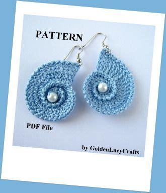pattern matching c shell best 25 crochet earrings ideas on pinterest crochet