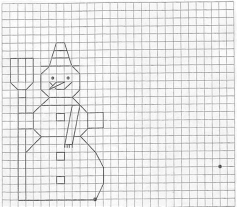 graph drawing how to draw snowman hellokids