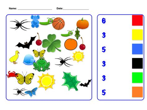 printable color games for kindergarten coloring pages printable best color games for kindergarten