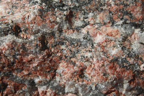 Granite Quartz Closeup Granite Texture Mica Quartz And Feldspar
