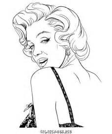 marilyn coloring pages marilyn step by step coloring pages