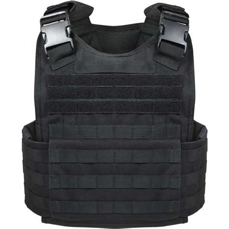 molle vest black plate carrier tactical vest black molle vest