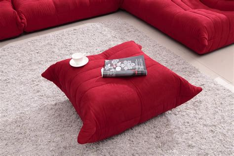 red fabric sectional bloom red fabric sectional sofa