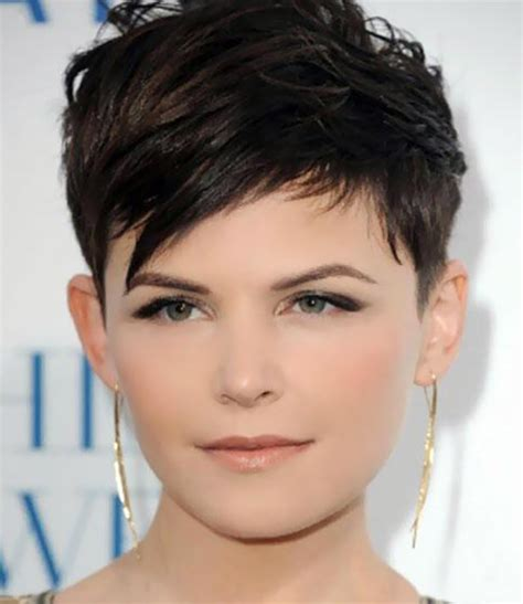 short pixie hairstyles for people with big jaws min hairstyles for hairstyle for round chubby face