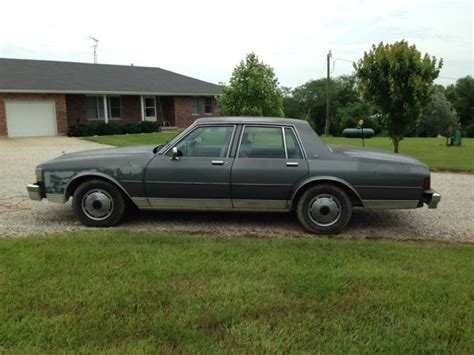 l bases for sale 1990 chevrolet caprice base sedan 4 door 5 7l for sale