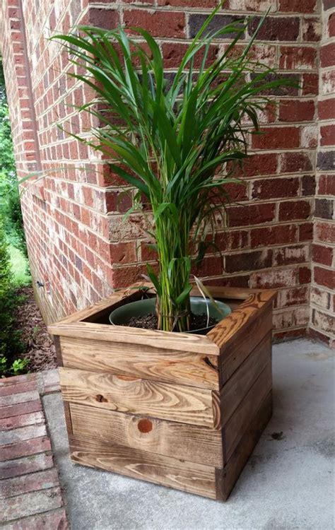 Pallet Planter Boxes for Balcony   Pallet Furniture Plans