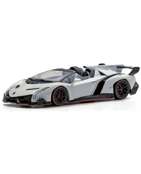 Kyosho Diecast Lamborghini Veneno 1 43 Scale Grey 1 kyosho 1 43 scale lamborghini veneno roadster white line goodsmile global shop