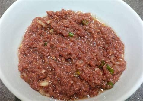 resep membuat kornet daging sapi sendiri  rumah resep asik