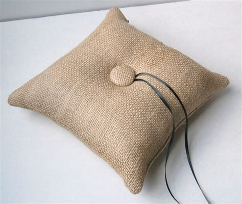 Has With Pillow by Personalized Ring Bearer Pillow Hmh Designs