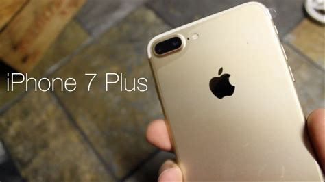 Apple Iphone 7 Gold 256gb apple iphone 7 plus unboxing gold 256gb