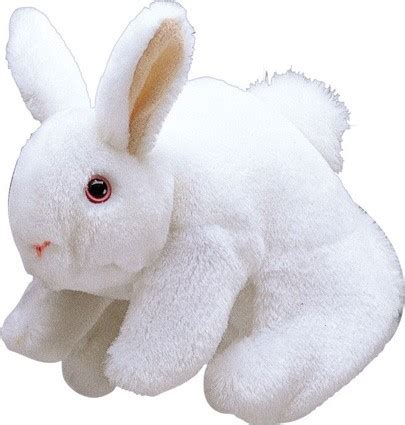Bunny White white bunny rabbit puppet