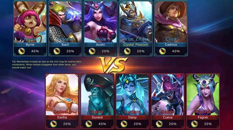 mobile legends heroes mobile gallery