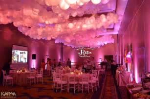 Elegant wigwam birthday lighting in pinks whites and pattern washes 3