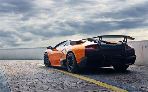 Lamborghini Murcielago LP670 4 SV orange supercar