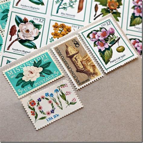 how to save on wedding invitation postage vintage postage for wedding invitations weddinglovely