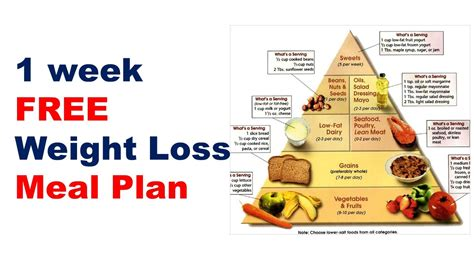 1 weight loss food free weight loss meal plan diet plan for weight loss