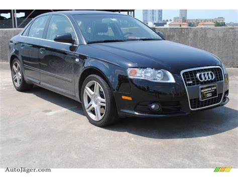 Auto J Ger by 2008 Audi A4 2 0t Sedan In Brilliant Black 055610 Auto J