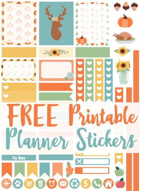 Galerry printable planner stickers for cricut
