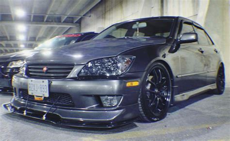 lexus altezza is300 lexus altezza is300 greddy lip front splitter ventus