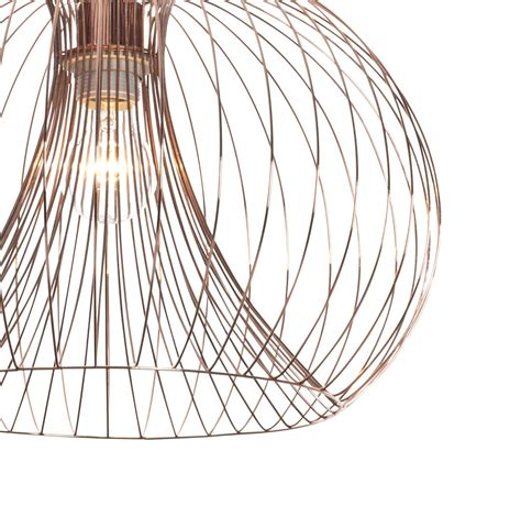Wire Chandeliers Contemporary Modern Copper Wire Ceiling Pendant Chandelier Light Shade