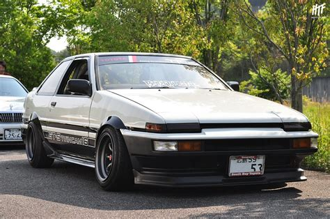 Toyota Trueno Ae86 Sucksqueezebangblow Ae86 Trueno Sedan