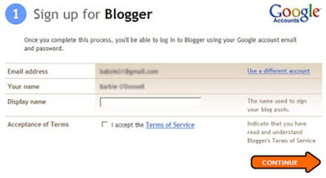 blogger sign out how to create a blog for free