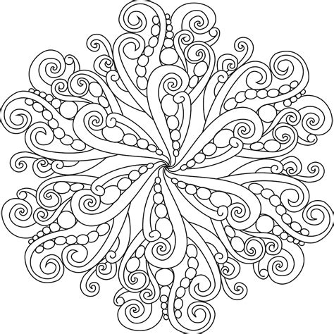 unique coloring pages for adults intricate mandala coloring pages about remodel