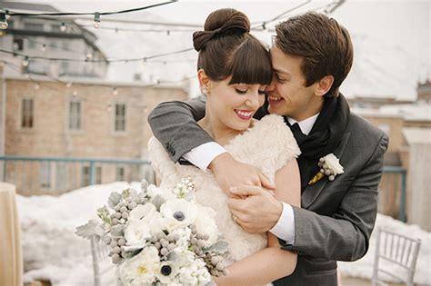 Hochzeit Im Winter by Hochzeit Im Winter Hochzeitsinspiration In Gold Wei 223