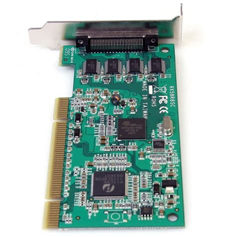Serial 8 Port Pci Card pci serial card 8 port low profile 16950 uart