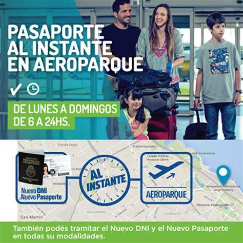 Tramitar El Pasaporte Al Instante Sin Turno En Ezeiza Y | tramitar el nuevo pasaporte al instante en aeroparque